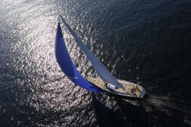 Sailing Yacht Farewell - a Southern Wind 100 yacht designed by Farr and Nauta Yacht Design - Image courtesy of Nauta Yachts