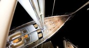 Sailing Yacht OYSTER 625 by Night