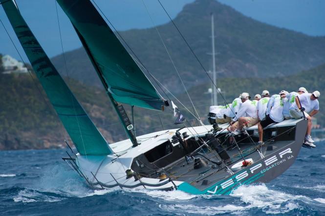 Sailing Yacht Vesper Christophe Jouany Les Voiles de Saint-Barth