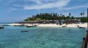 Sipadan Island in the beautiful yacht charter location - Malaysia