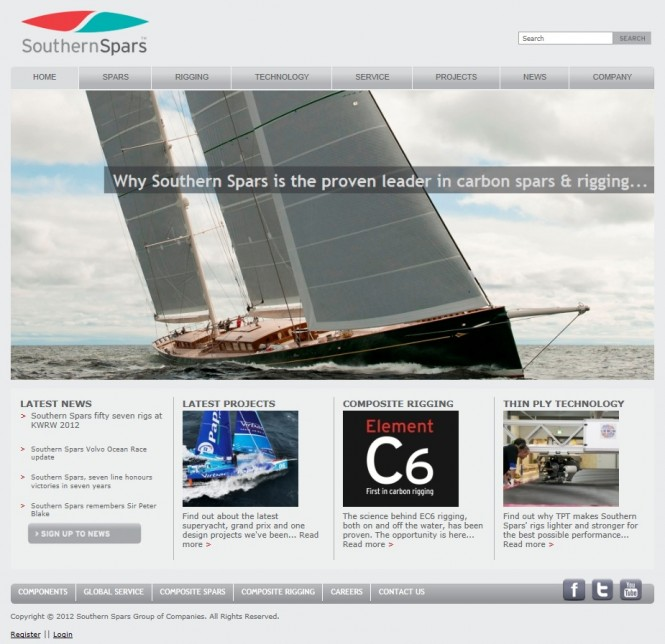 Southern Spars new website