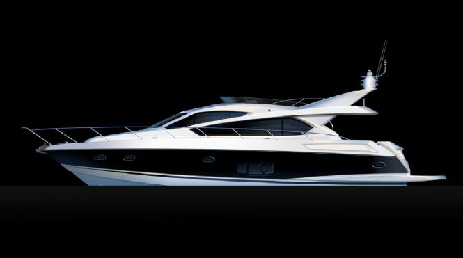 Sunseeker Manhattan 63 motoryacht - Image coutesy of Sunseeker