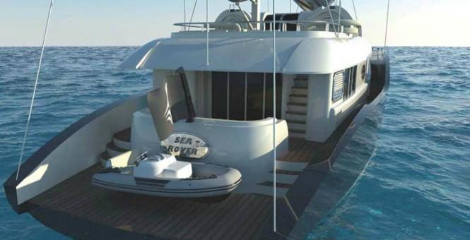 Super Yacht Conrad 115 Exterior