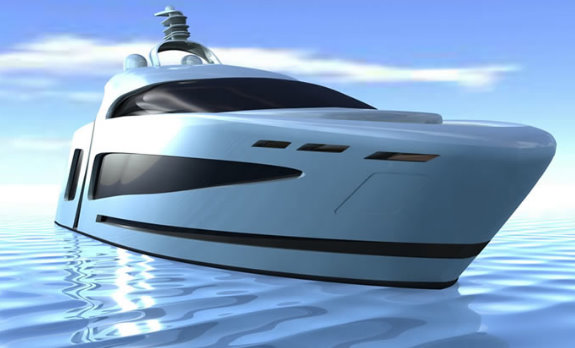 Super Yacht i41 - front view