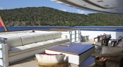 Superyacht TV - Main Deck Seating to Aft