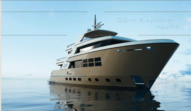 The 32m Drettmann Explorer Yacht