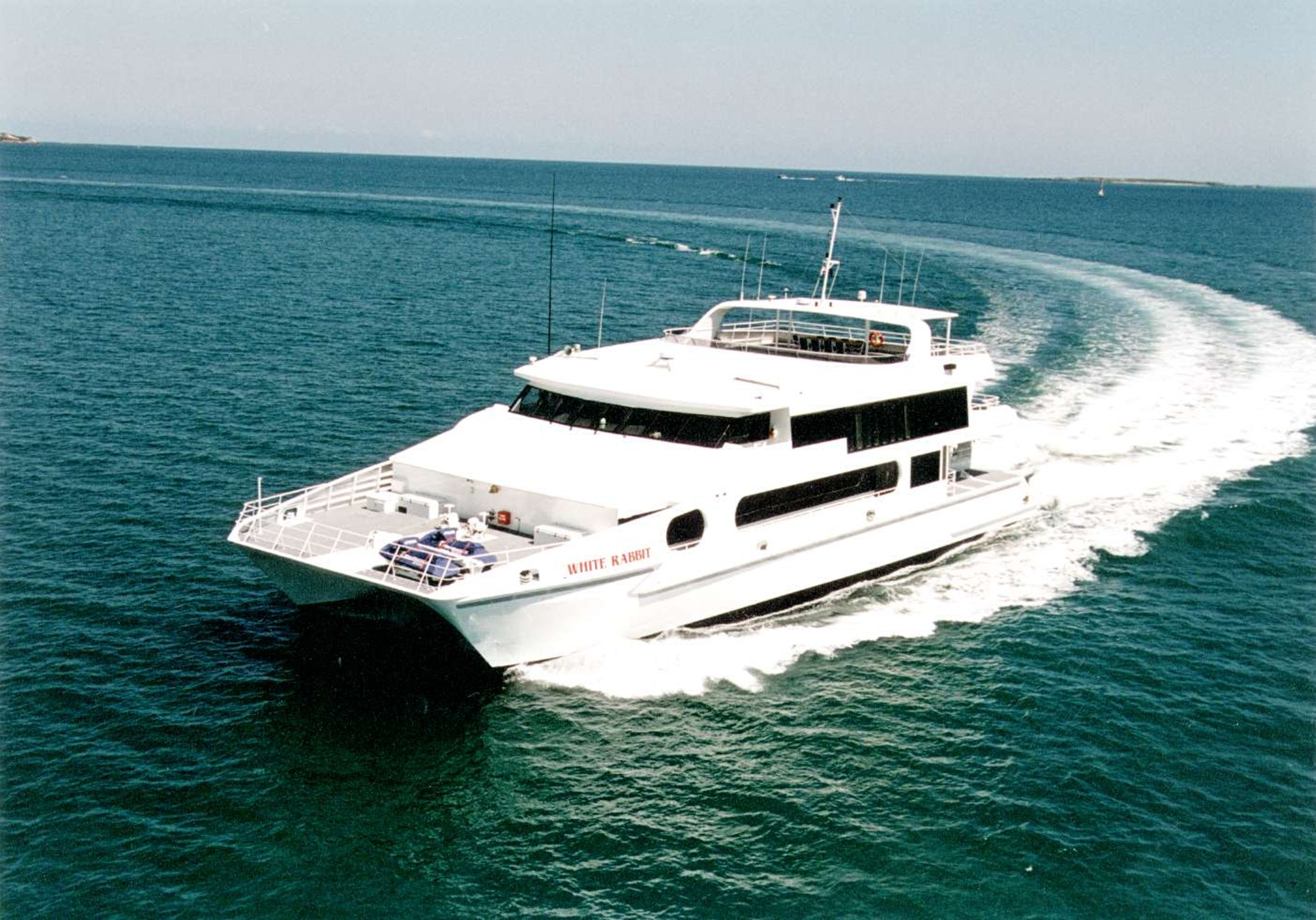 The 36m Luxury Motor Yacht White Rabbit Charlie Yacht