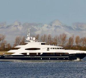 Heesen Yachts deliver SERENITY superyacht