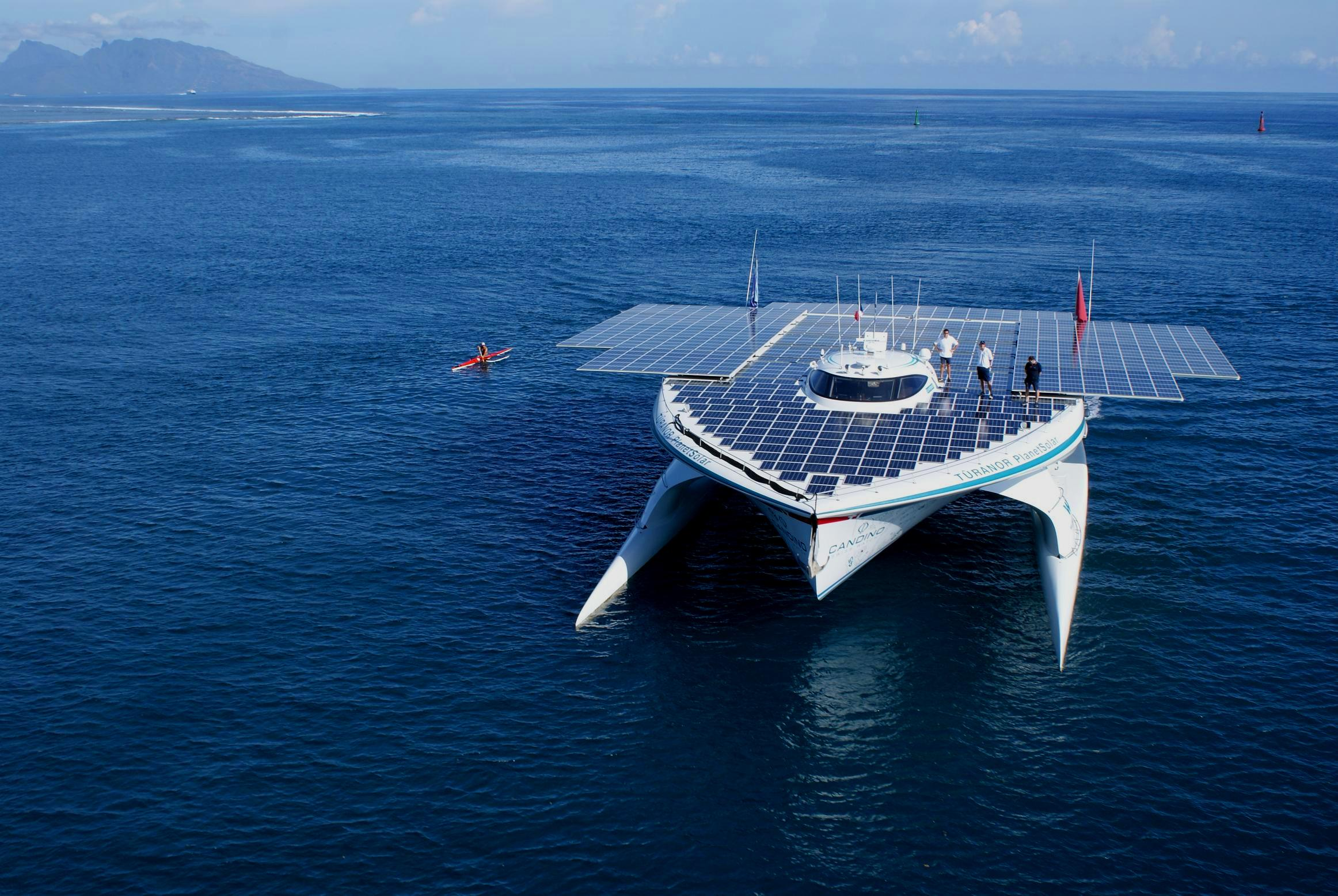 The Largest Solar Boat in the World - PLANET SOLAR