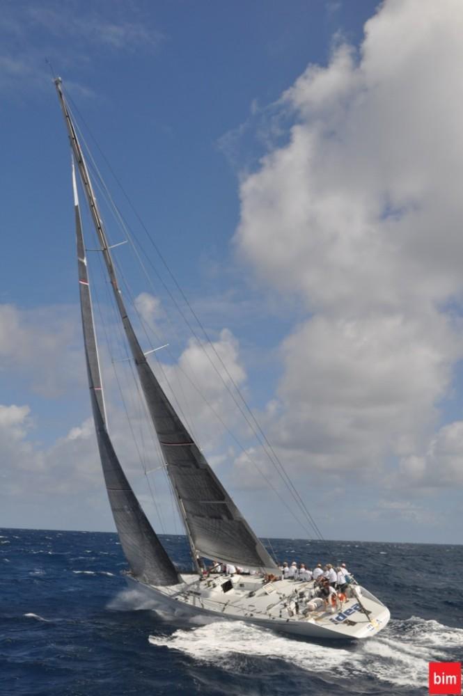 The Reichel Pugh Maxi 78' Idea Yacht Credit Bim Media Group - Bim.bb