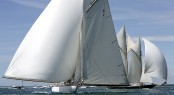 The beauty of Big Class yacht racing in Cowes during the inaugural Westward Cup in 2010 - Photo by Franco Pace