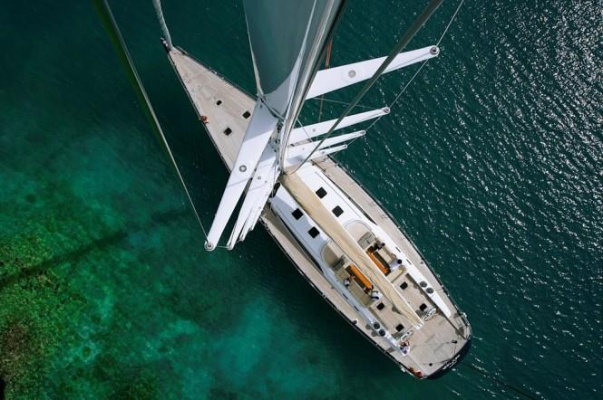 VIRAGO a Swan 100 sailing yacht