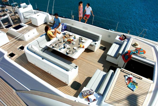 Yacht ARISTARCHOS a Swan sailing yacht