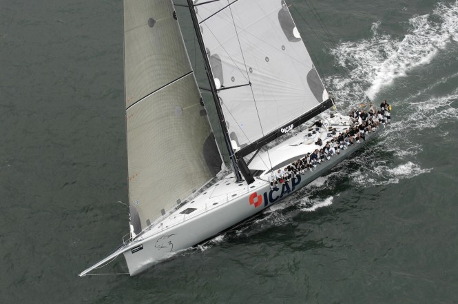 He will compete with his 100ft sailing yacht ICAP Leopard to defend his most ...