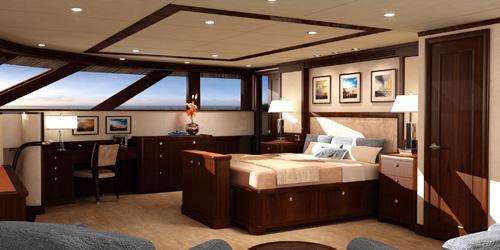 115 Nordlund Super Yacht Interior