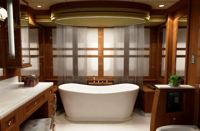 49m trinity superyacht blind date master suite bath Luxury master bathroom suites