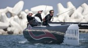 Alinghi skippered by Ernesto Bertarelli Credit: Lloyd Images