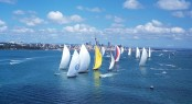 Auckland Fleet competing in the Millennium Cup