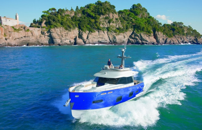 Azimut yacht Magellano 50 is not merely a new model, it is a whole new ...