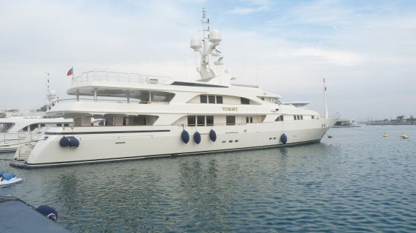 Benetti 52m motor yacht Tommy