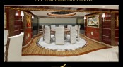 Benetti Diamonds Are Forever megayacht Sky Lounge