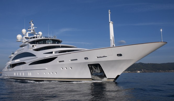 Benetti FB253 luxury yacht Diamonds Are Forever