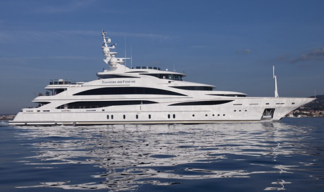 Benetti FB253 megayacht Diamonds Are Forever