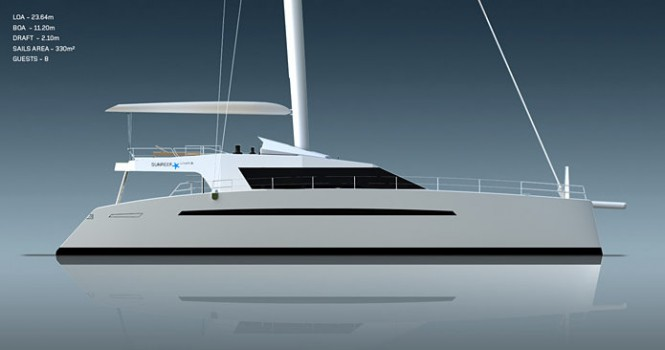Catamaran Yacht Sunreef 75 Ultimate