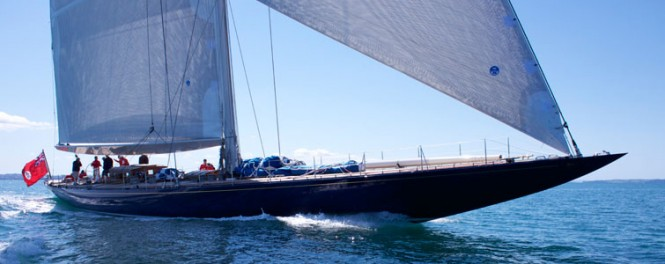 Classic sailing yacht Endeavour completes Sea Trials in New Zealand - Photo Credit Yachting Developments