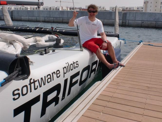Danish Team Trifolk Credit Extreme Sailing Series