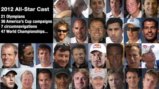 Extreme Sailing Series Teams 2012