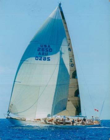 Frank Eberhart's Nielsen 59 Custom sailing yacht Hound