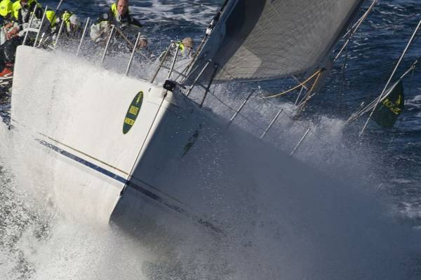 George David's Rambler 90 yacht during the 2007 Rolex Fastnet Race - photo: Rolex/Carlo Borlenghi