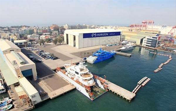 Horizons Premier Shipyard in Taiwan
