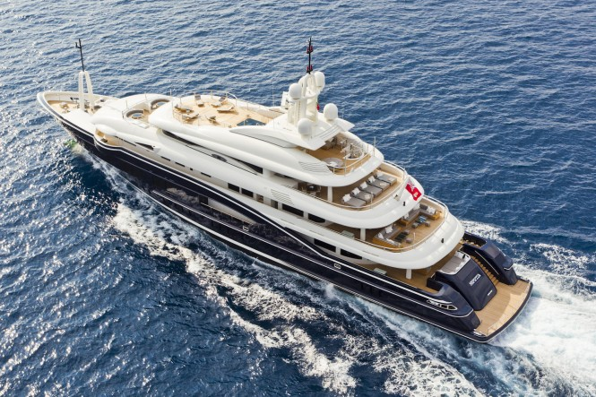 Luxury Superyacht Numptia designed by Design Studio Spadolini