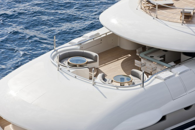 Luxury Yacht Numptia designed by Design Studio Spadolini