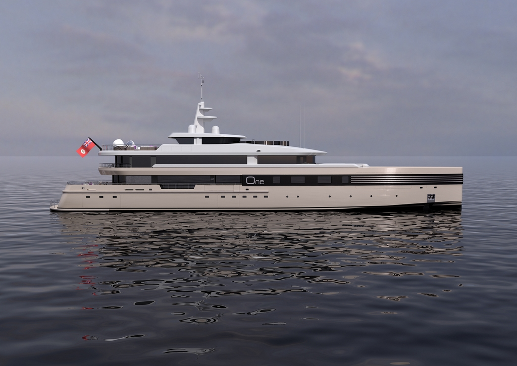 Luxury Motor Yacht One Concept By Cmn Yachts Yacht