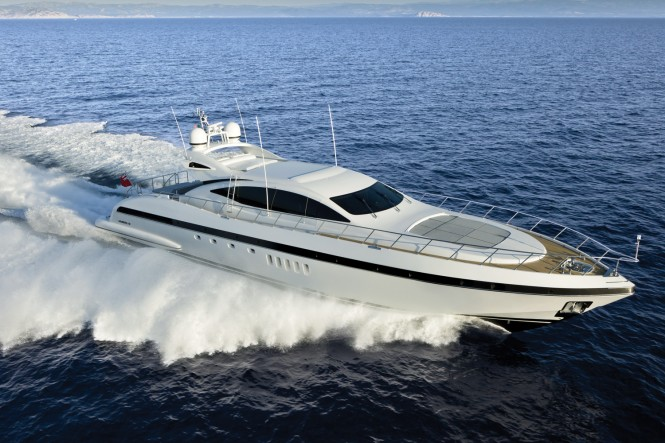 Mangusta 92 by Overmarine Group at the Miami International Boat Show ...
