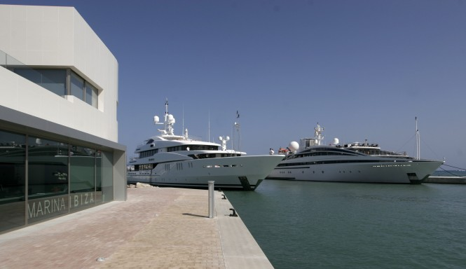 Marina Ibiza is a superyacht marina with the most exclusive Concierge Service in the Mediterranean