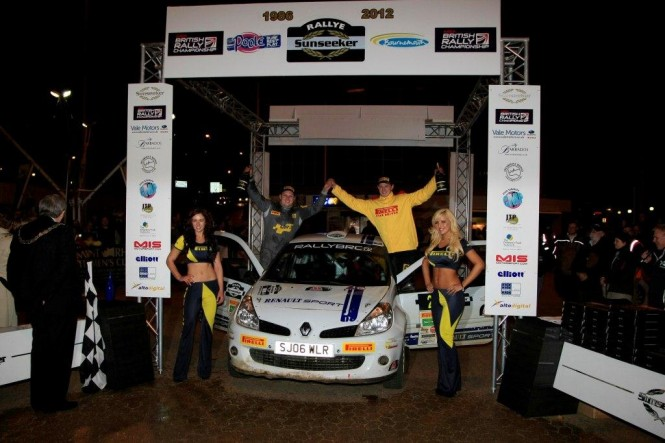 Mark Donnelly and Dai Roberts - Winners of the Rallye Sunseeker 2012 Image Courtesy of Jakob Ebery