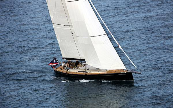 Michael Reardon´s Tripp 75 Yacht Blackbird. Photo: Tripp Design