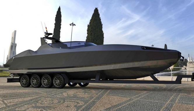 New 11m Aesun Open Yacht Tender by Stansfeld Marine