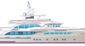 New 120´ Jade Motor Yacht due to be launched in 2013