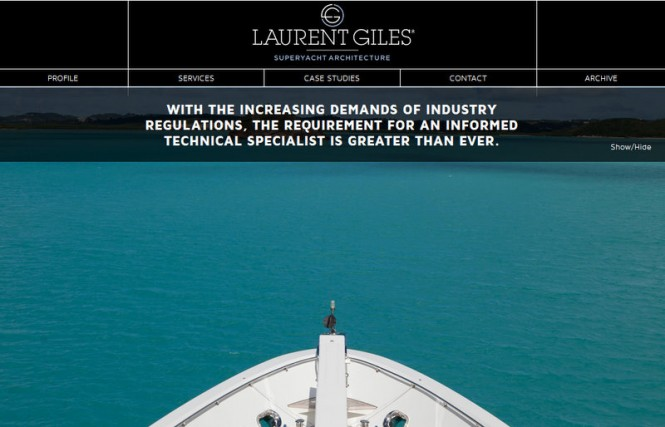 New Laurent Giles Superyacht Architecture Website