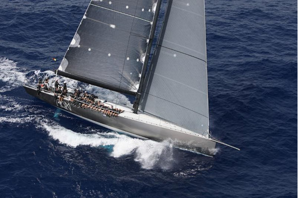 Niklas Zennstrom´s yacht RAN wins 2012 RORC Caribbean 600 Overall Trophy and Class Zero Credit Tim Wright Photoaction