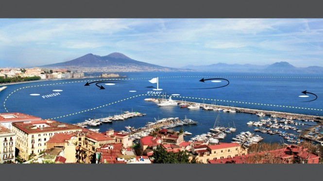 One of the best Mediterranean yacht charter locations - Naples, Italy Photo Credit: ACEA