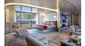 Owner&#039;s Suite - Luxury charter yacht Quinta Essentia