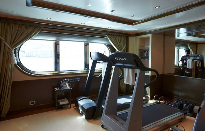 Pegasus V (ex Princess Mariana) Superyacht  - Gym