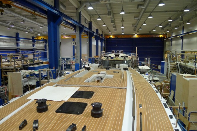 With three more Swan 60 sail yacht orders secured, the fleet continues to ...
