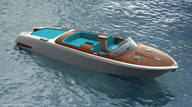 Riva Aquariva Yacht Tender by Marc Newson. The Aquariva yacht by Marc Newson ...